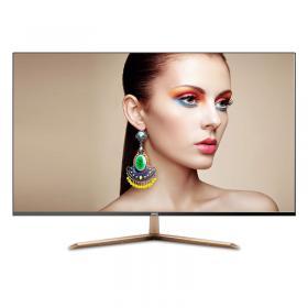 新品HYC 2k显示器32寸电脑显示器无边框HDMI液晶显示器IPS显示屏 2K高清屏IPS 超薄 厚6mm 无边框